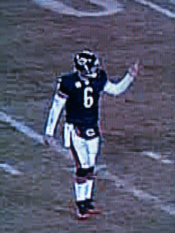 Jay Cutler Middle Finger PHOTOS Pictures Of QB Flicking Off Crowd