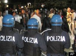 Italy Immigrant Riot