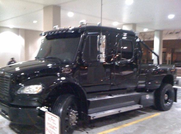 Chad Ochocinco S Birthday Truck Photos Video Huffpost