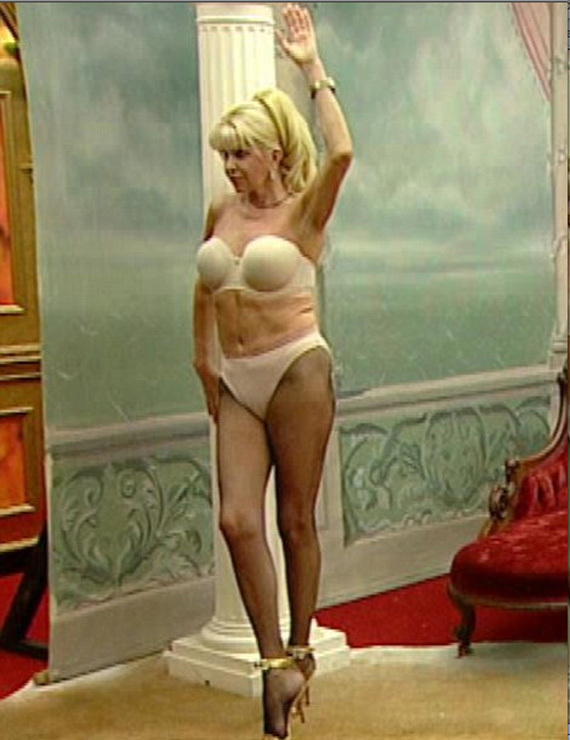 13f393c2688 Ivana Trump In Her Underwear On Celebrity Big Brother (PHOTOS