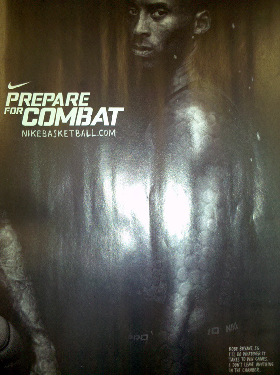 2078dfc1b0c3 Kobe Bryant Gun-Themed Nike Ad PHOTOS   I Don t Leave Anything In The  Chamber