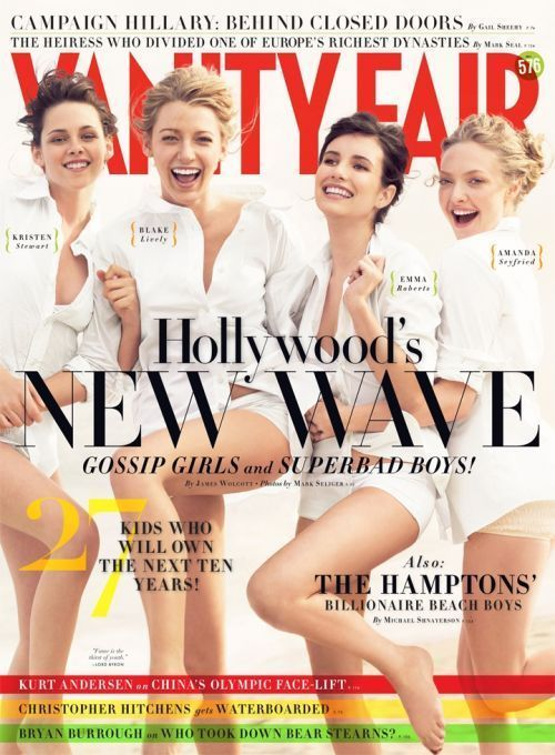 Vanity Fair S Hollywood Issue More Of The Same Photos