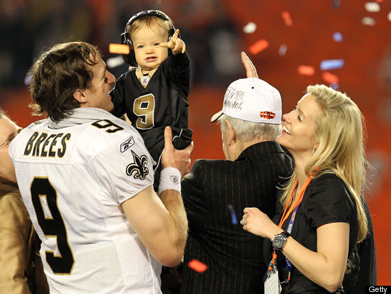 Drew Brees kids