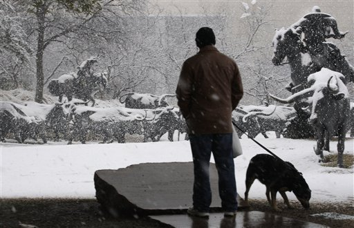 Dallas Snow: Updates, PICTURES Of Rare Weather (PHOTOS, VIDEO)