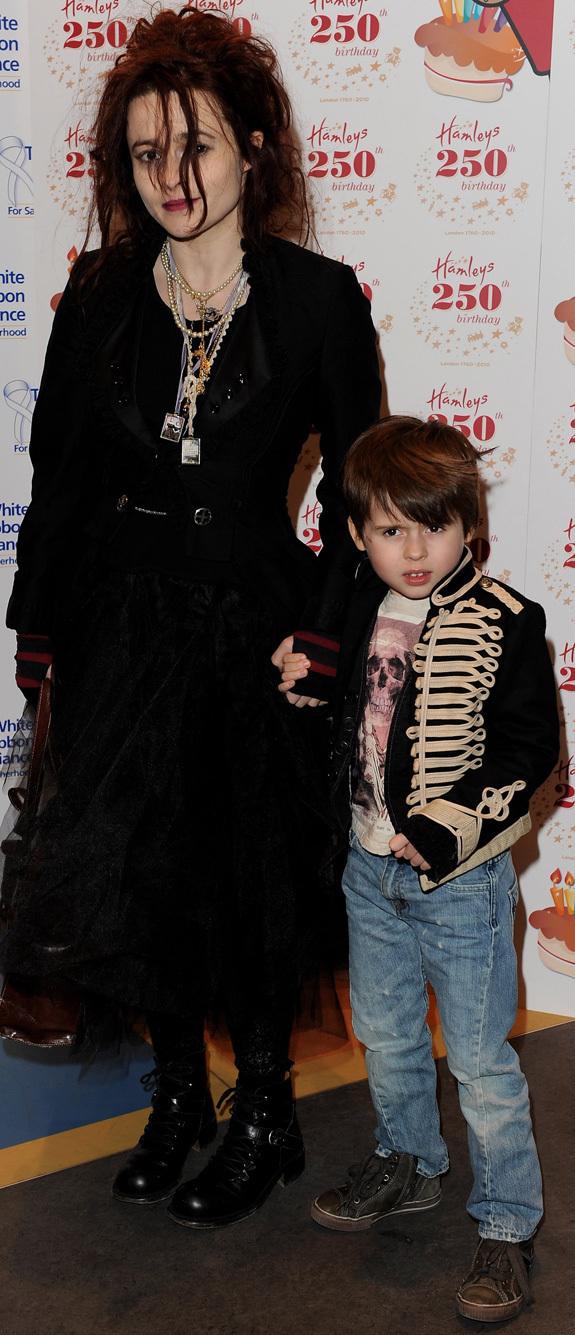 Billy Ray Burton Mom Helena Bonham Carter At Toy Party Photo Huffpost