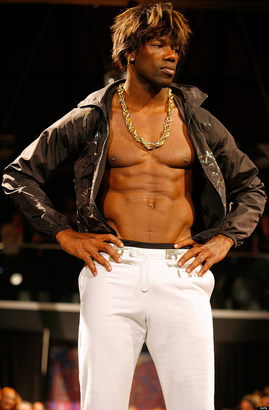 Gay Catwalk Fashion Show Terrell Owens Fashion Show