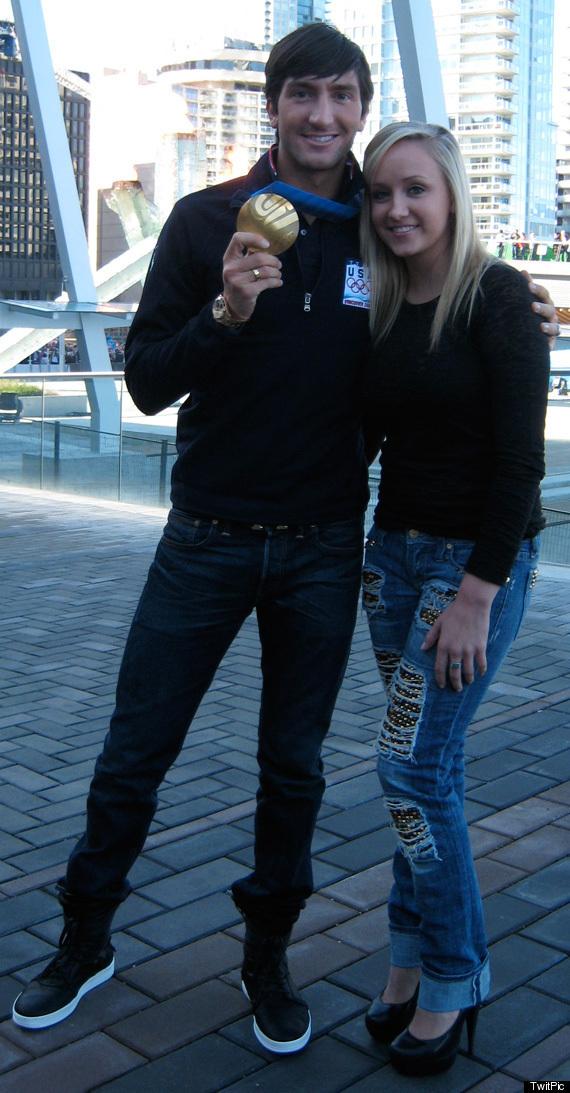 Nastia liukin and evan lysacek dating