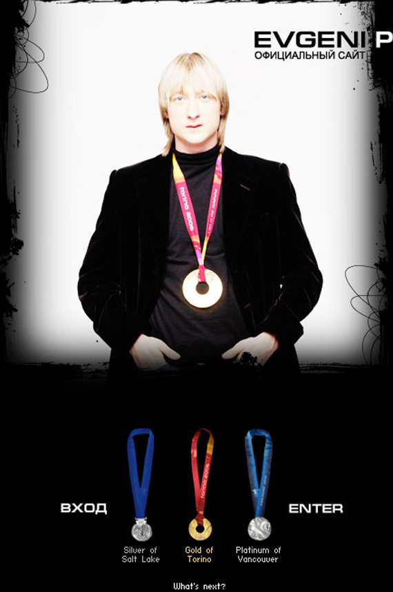 from Plushenko's official website