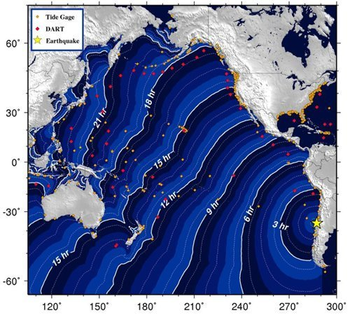 earthquake in Chile.