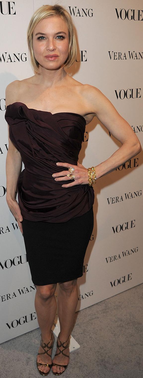 RENEE ZELLWEGER Reese Witherspoon & Renee Zellwegers Matching Look