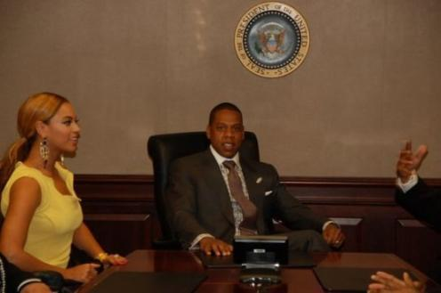 Jay-Z In The Situation Room: Rapper Met Obama (PHOTOS) | HuffPost