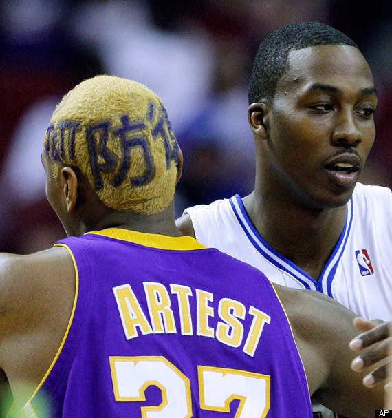 Ron Artest Haircut Hebrew Japanese Amp Hindi Lettering