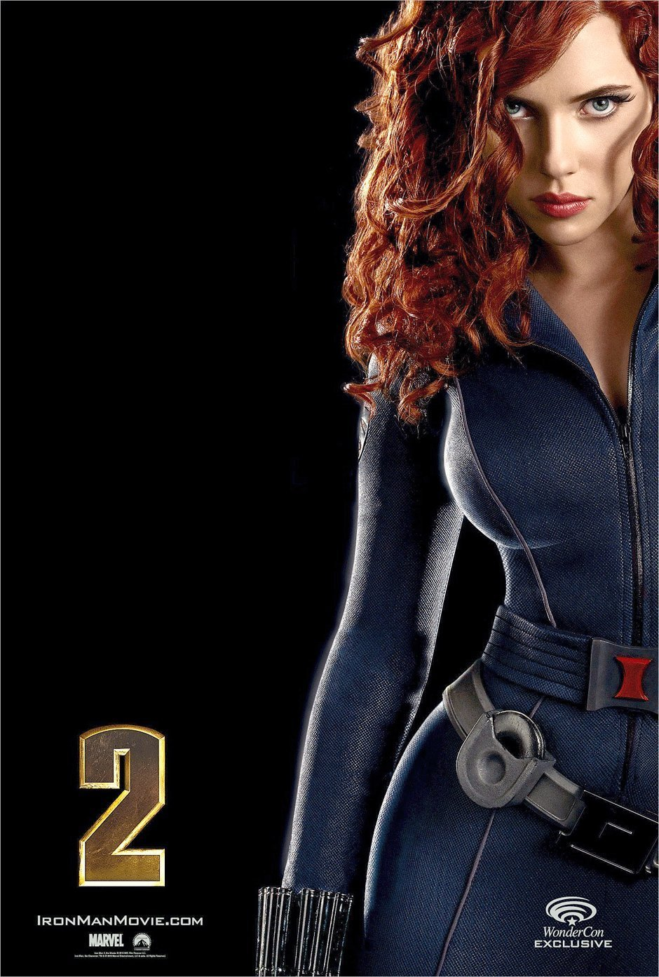 scarlett Johansson costume in Iron Man