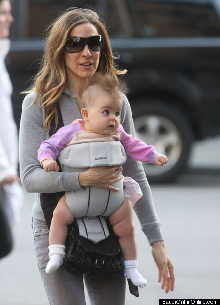 Magnificent Sarah Jessica Parker Shows Off Mohawked Baby Girl Photos Huffpost Natural Hairstyles Runnerswayorg