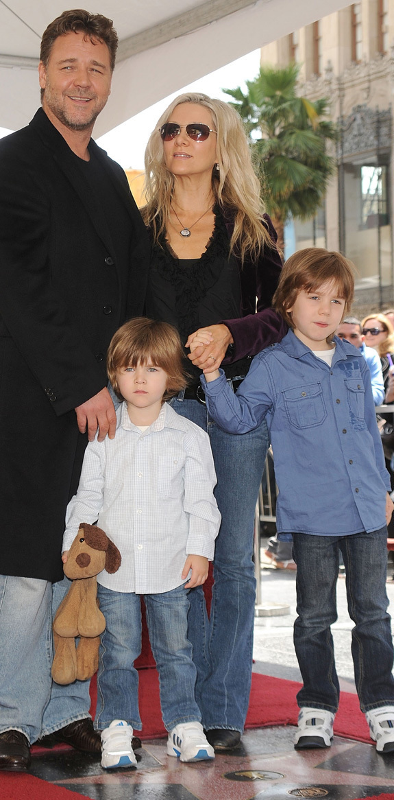 Russell Crowe Children