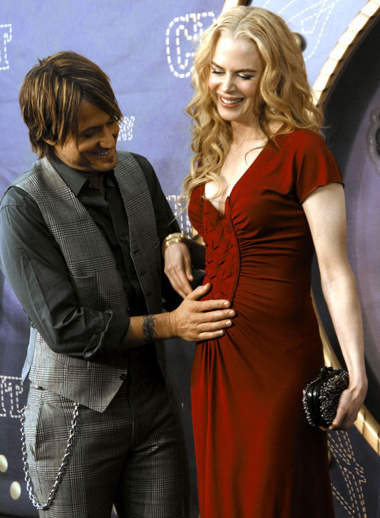 Keith Urban and pregnant wife Nicole Kidman worked