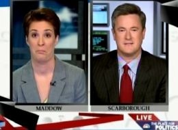 "Joe Scarborough Walks Off MSNBC's ""Race To The White House"" After ..."