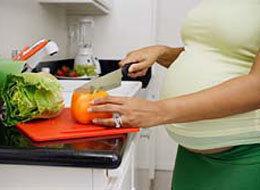 pregnant women food