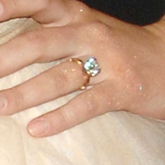 Scarlett Johansson Shows Off Engagement Ring PHOTOS HuffPost