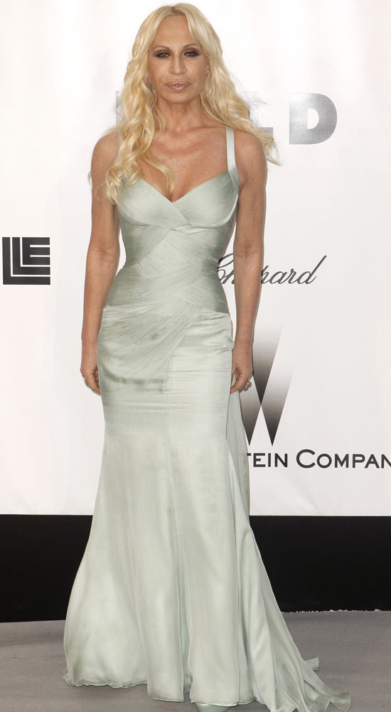 donatella versace dresses. Donatella Versace: