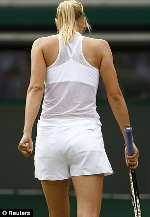 maria sharapova body. Maria Sharapova arrives