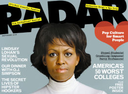 Michelle Obama Radar Cover