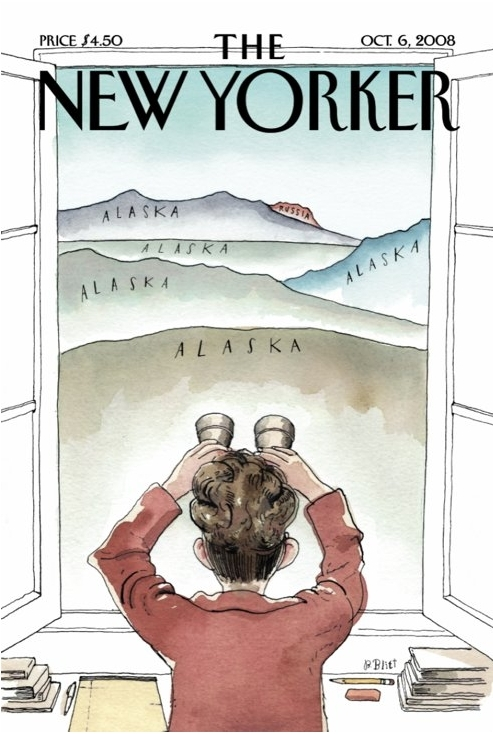New Yorker Cover 10/08