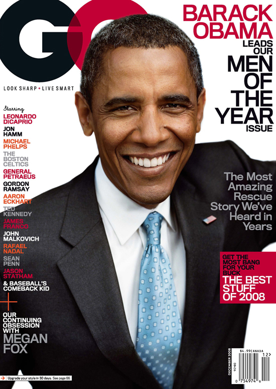 "Gq Magazine The Secrets Of R Kelly: GQ Names Barack Obama ""Man Of The Year"" With Ted Kennedy"