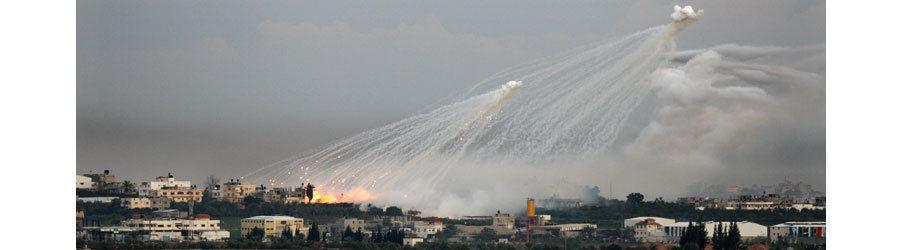 Einsatz Phosphorbomben Gaza