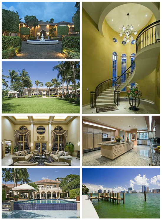 Shaq lists miami beach estate for 25 million huffpost for Shaquille o neal s home