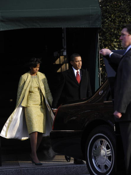 Michelle Obama\'s Inauguration Dress Designed By Isabel Toledo (POLL ...