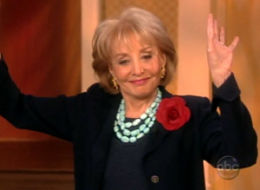 barbara walters turquoise necklace the view vibrator