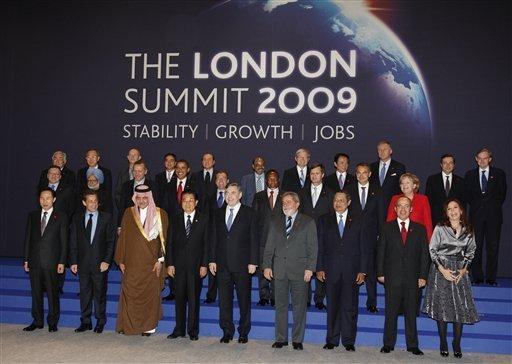 Foto de familia del G-20: Stability - Growth - Jobs
