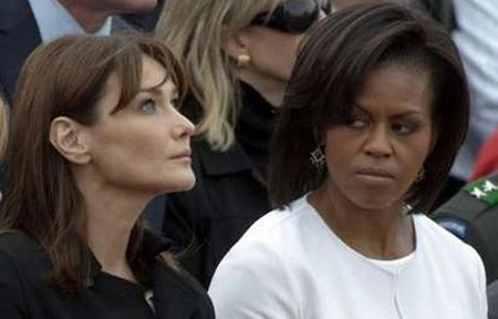 Was Michelle Obama Starin n 212686 on ice house security