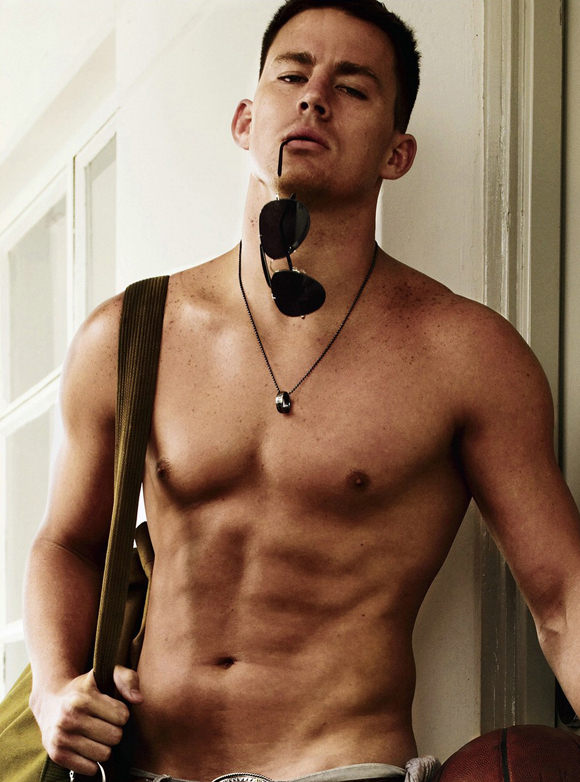 Channing Tatum Shirtless In Gq Photos Huffpost