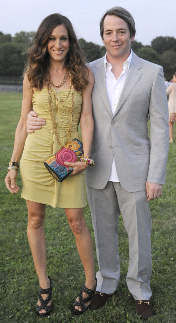 Sarah Jessica Parker And Matthew Broderick's Night Out After Babies ...